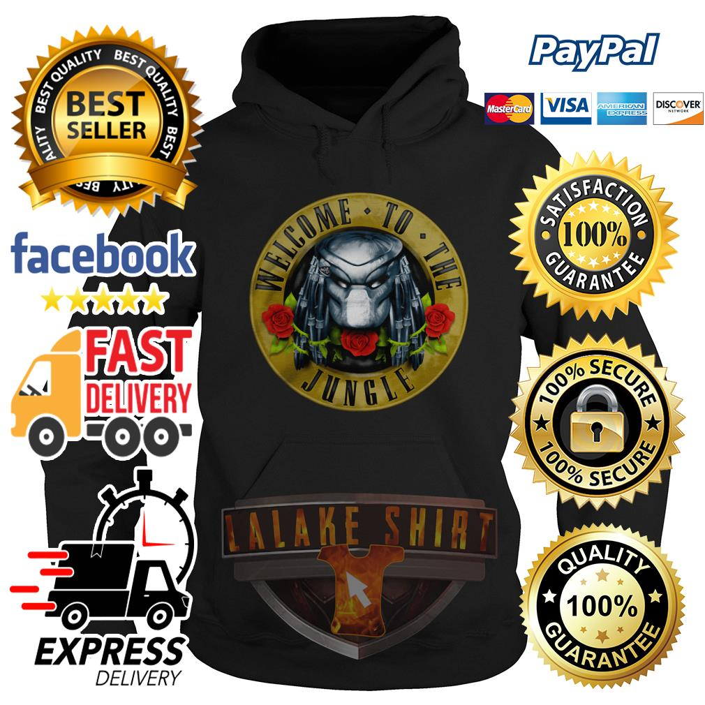 Predator welcome to the jungle Hoodie