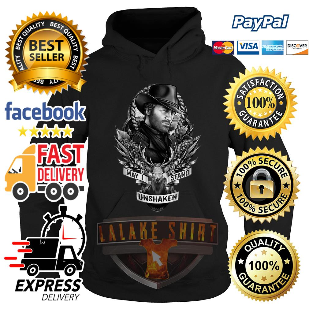 Red Dead Redemption may I stand unshaken Hoodie