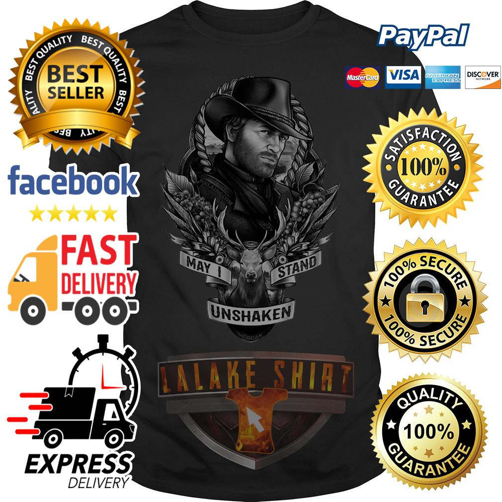 Red Dead Redemption may I stand unshaken shirt