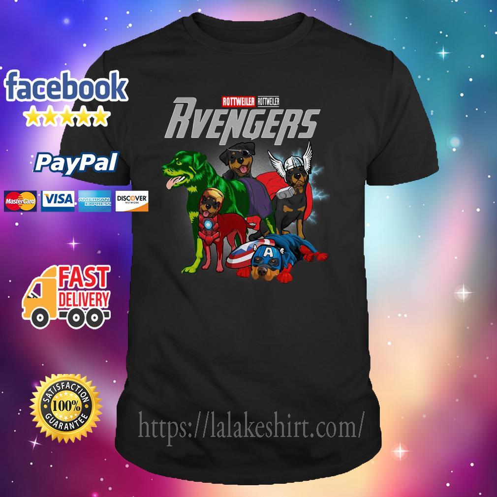 Rottweiler Rottweiler Rvengers shirt