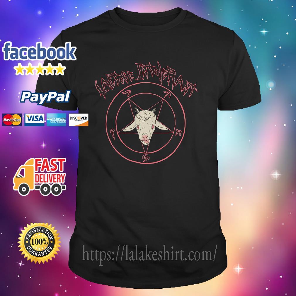 Satan Lactose intolerant shirt
