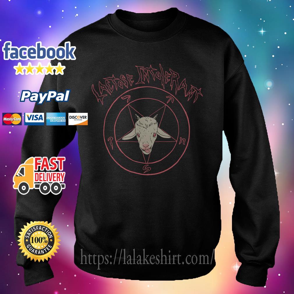 Satan Lactose intolerant Sweater