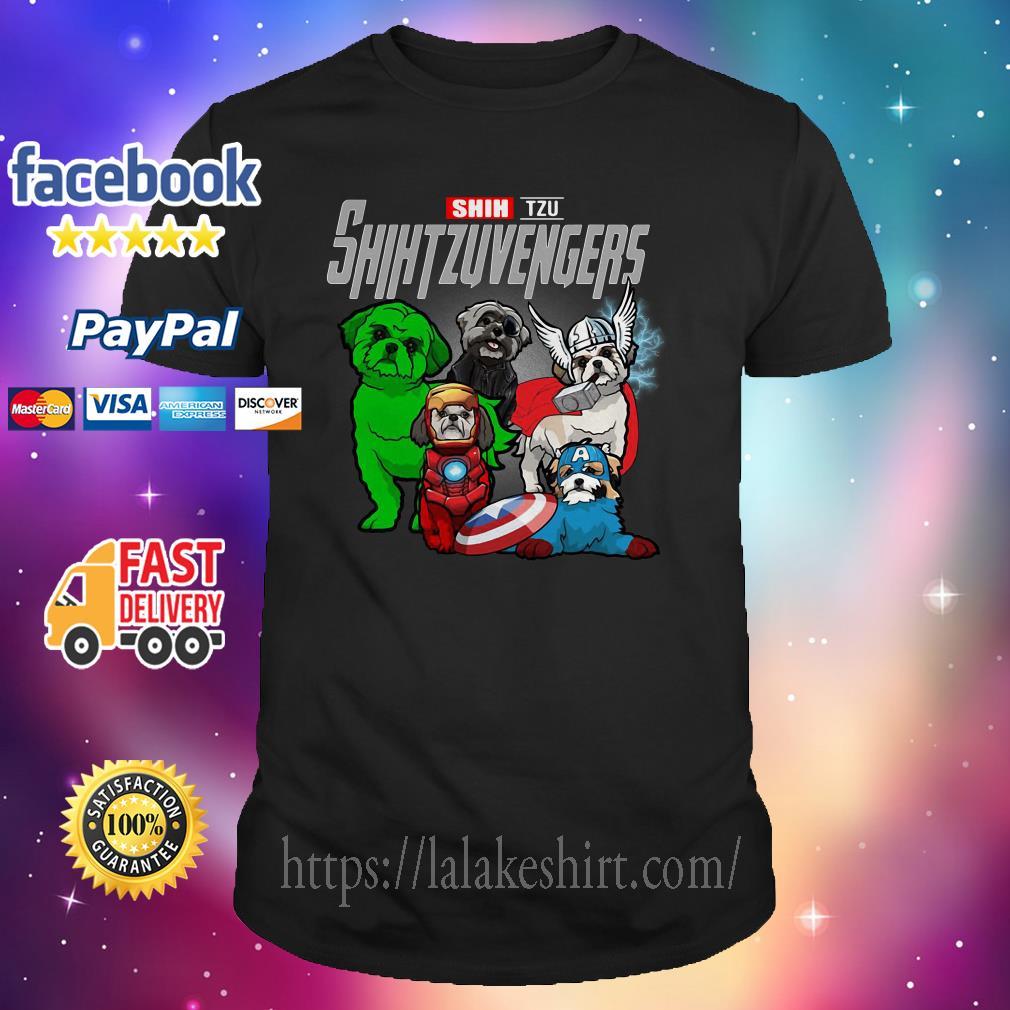 Shih Tzu Shih Tzu Avengers shirt