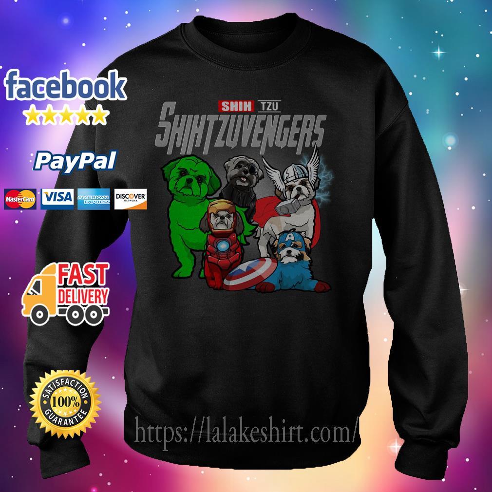 Shih Tzu Shih Tzu Avengers Sweater
