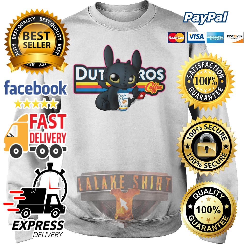 Toothless drink Dutch Bros Coffee Sweater