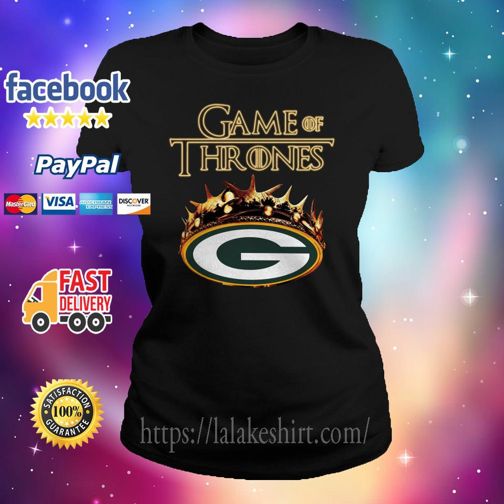 Game of Thrones green bay Ladies tee