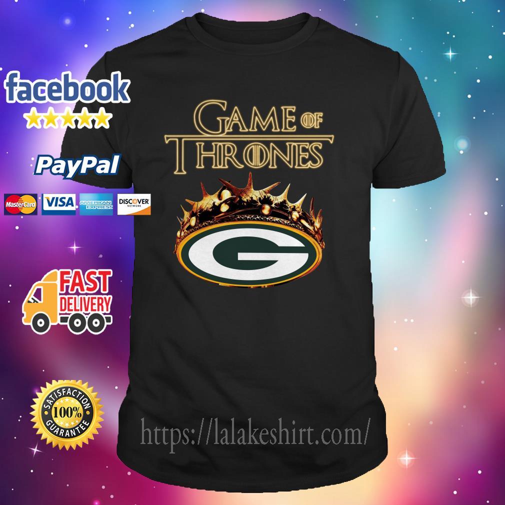 Game of Thrones green bay shirt