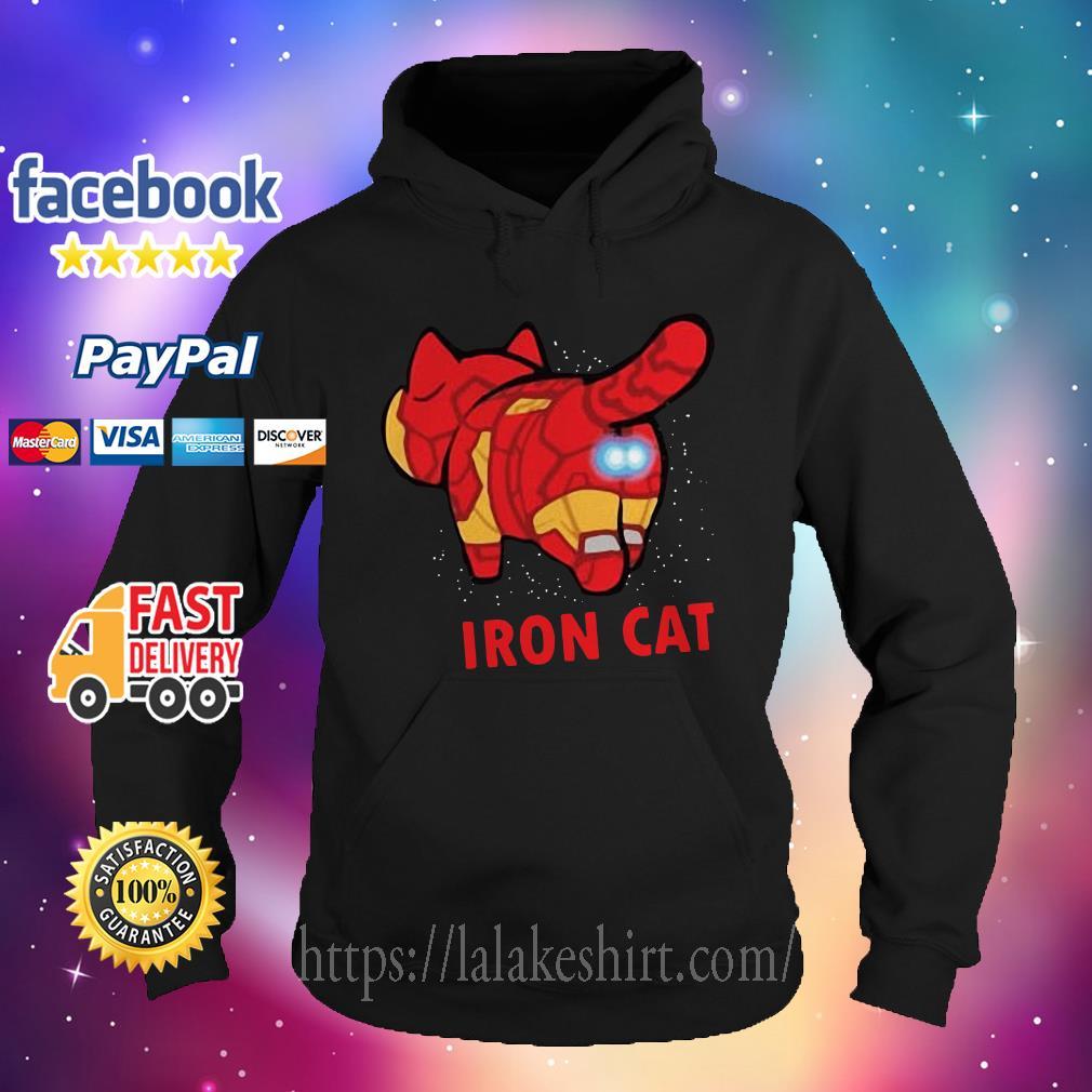 Iron Man Iron Cat Avengers Hoodie