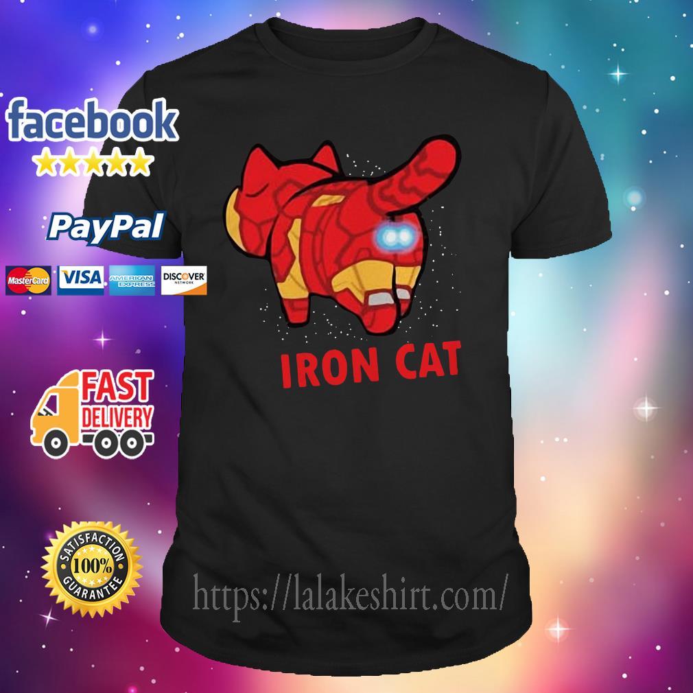 Iron Man Iron Cat Avengers shirt