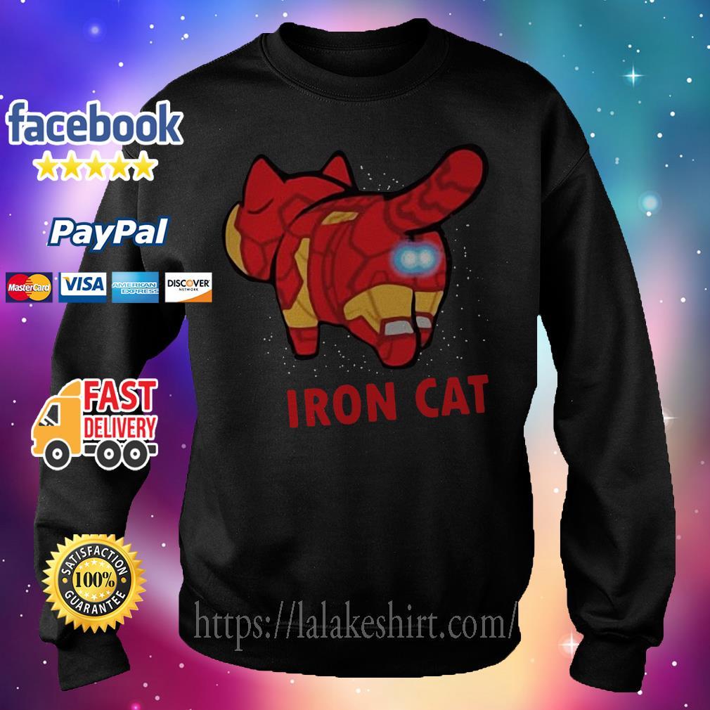 Iron Man Iron Cat Avengers Sweater