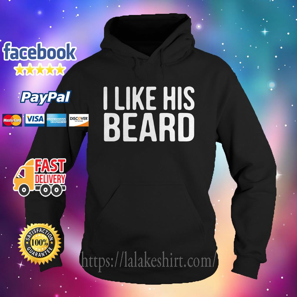 I like his beard Hoodie