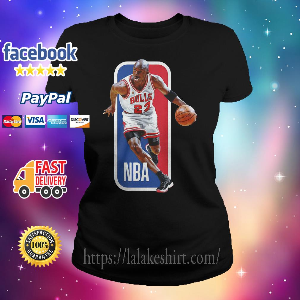 Michael Jordan Chicago Bulls NBA basketball Ladies tee