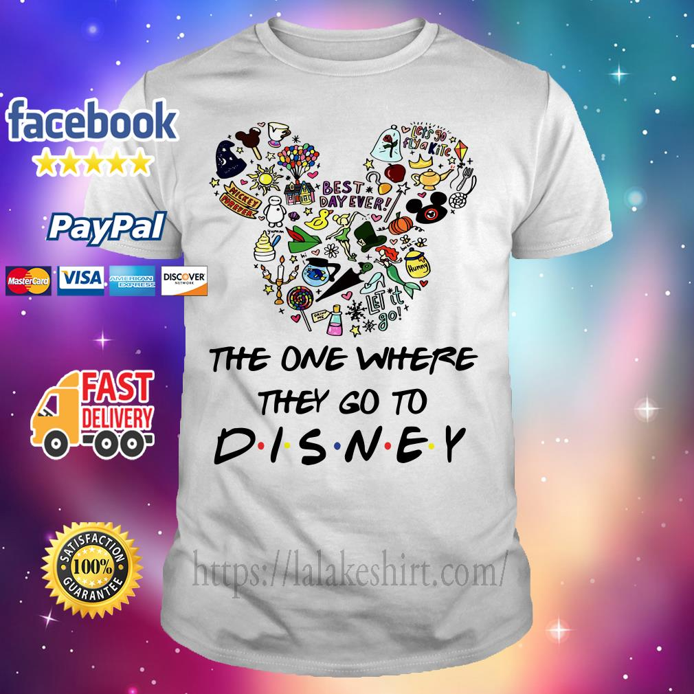 Mickey mouse The one where they go to Disney shirt