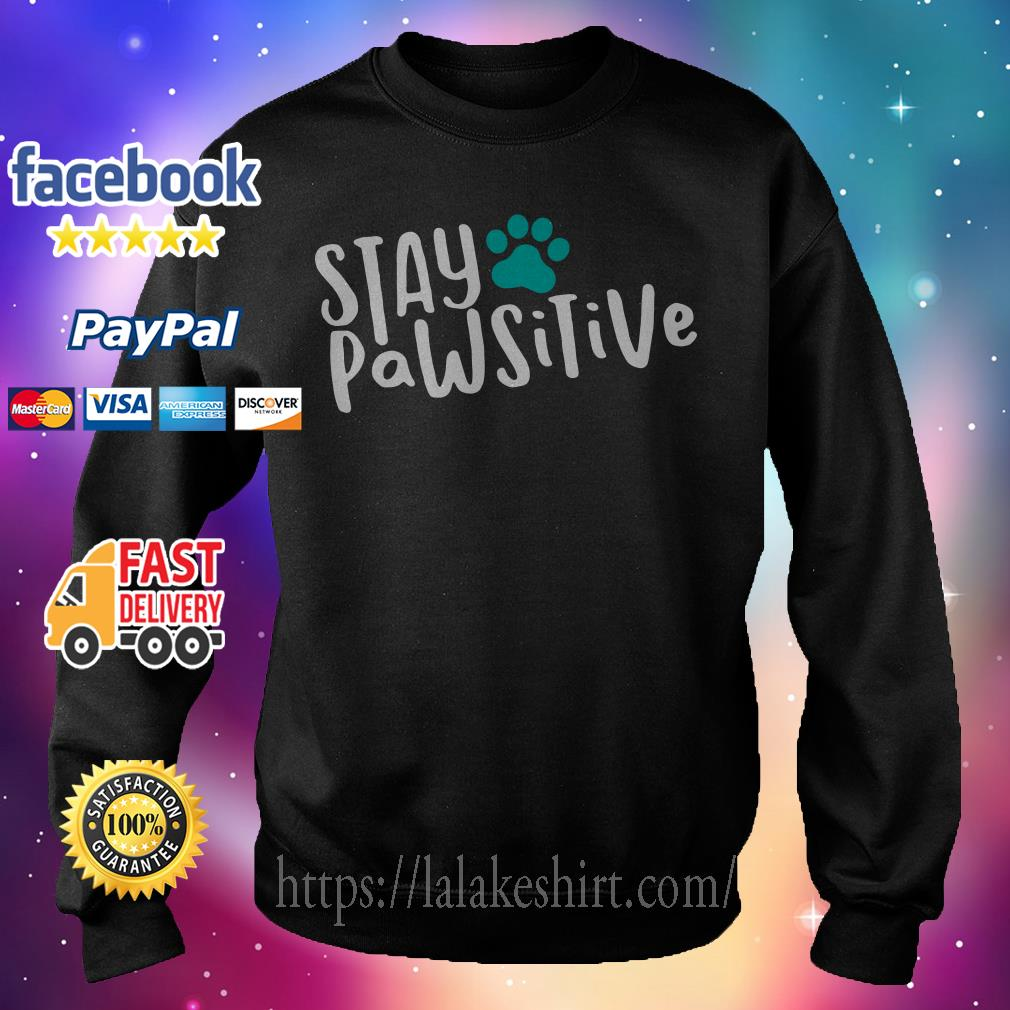 Official Stay pawsitive Sweater