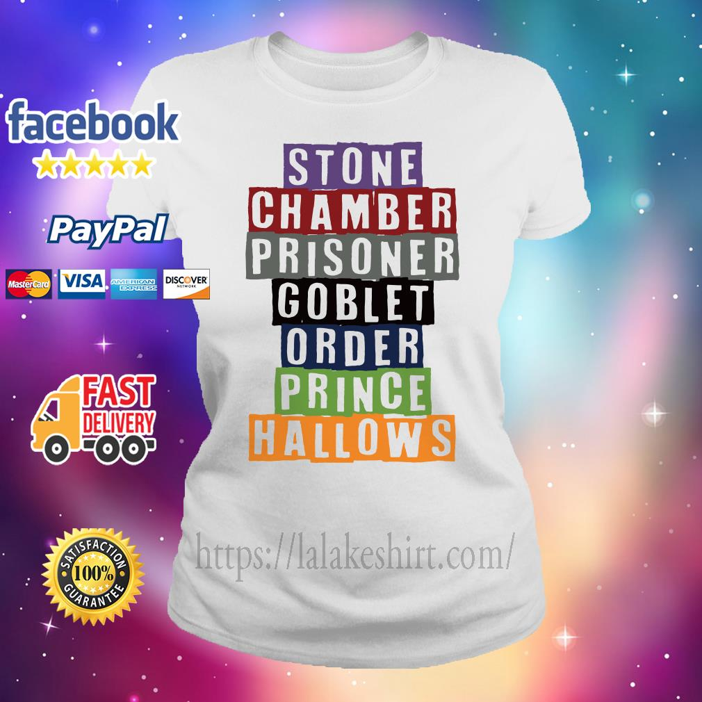Stone chamber prisoner goblet order prince hallows Ladies tee
