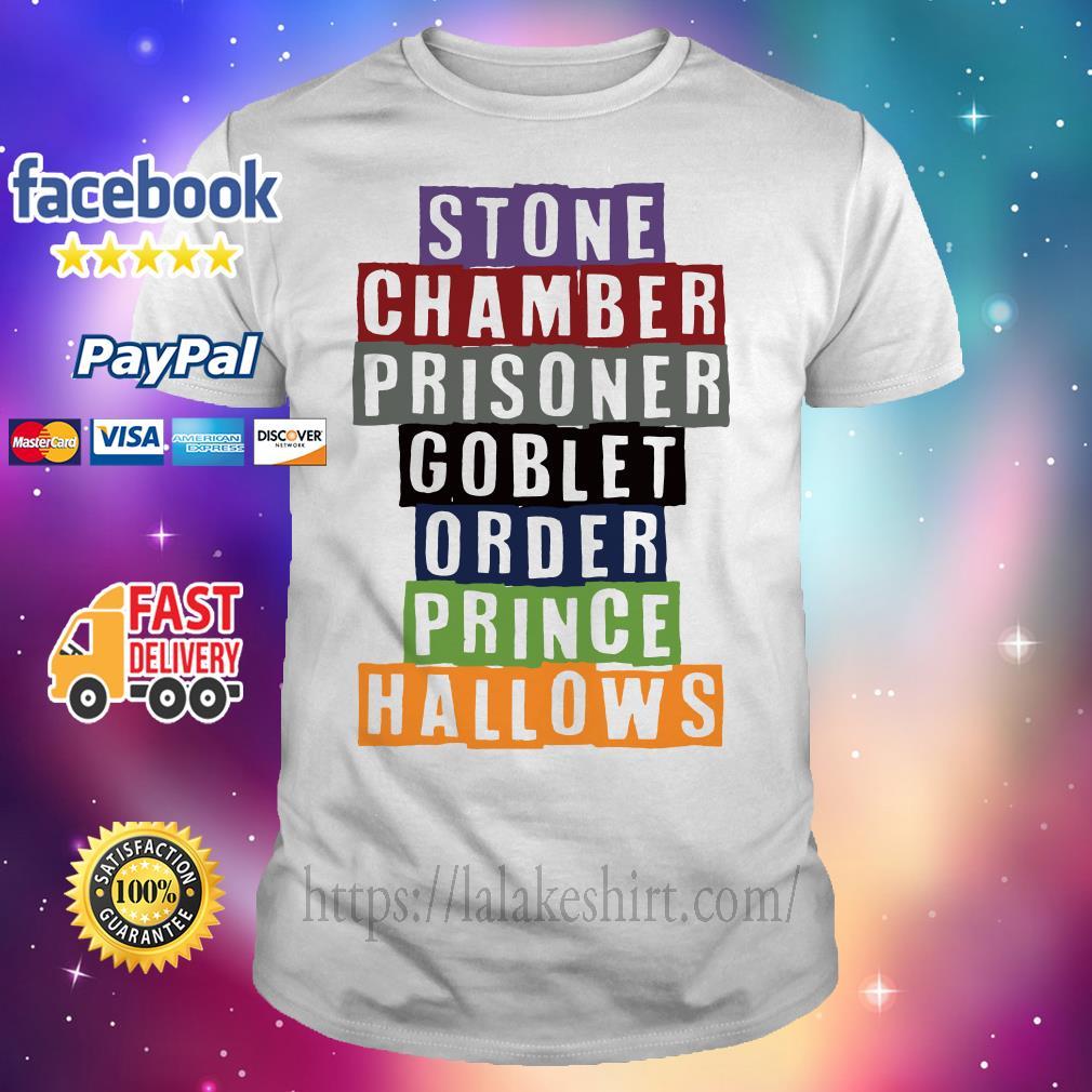 Stone chamber prisoner goblet order prince hallows shirt