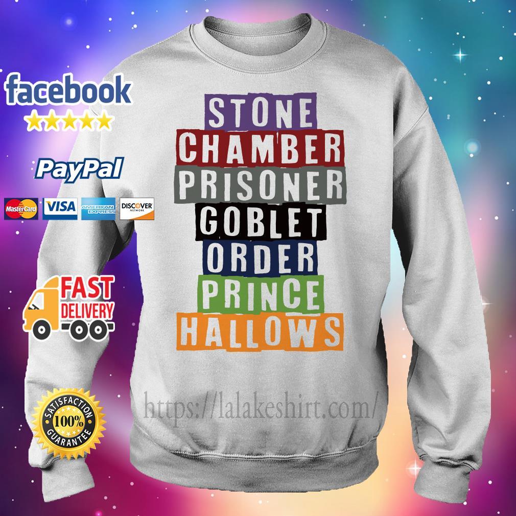 Stone chamber prisoner goblet order prince hallows Sweater