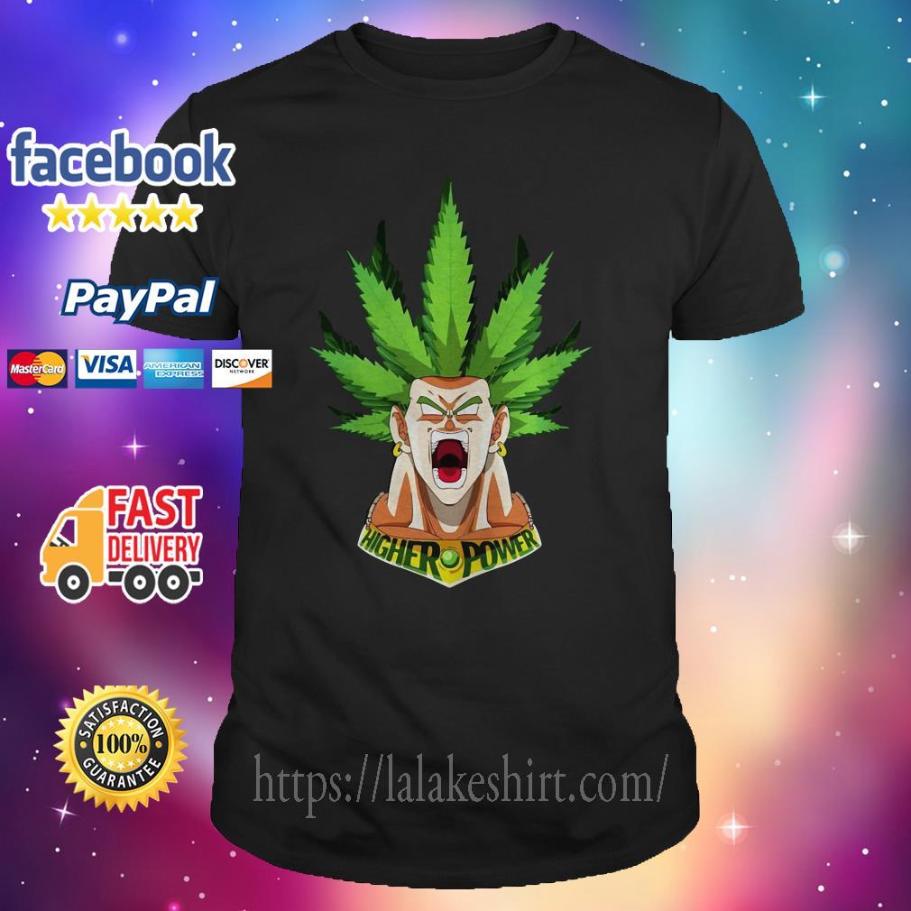 Weed Goku higher power shirt