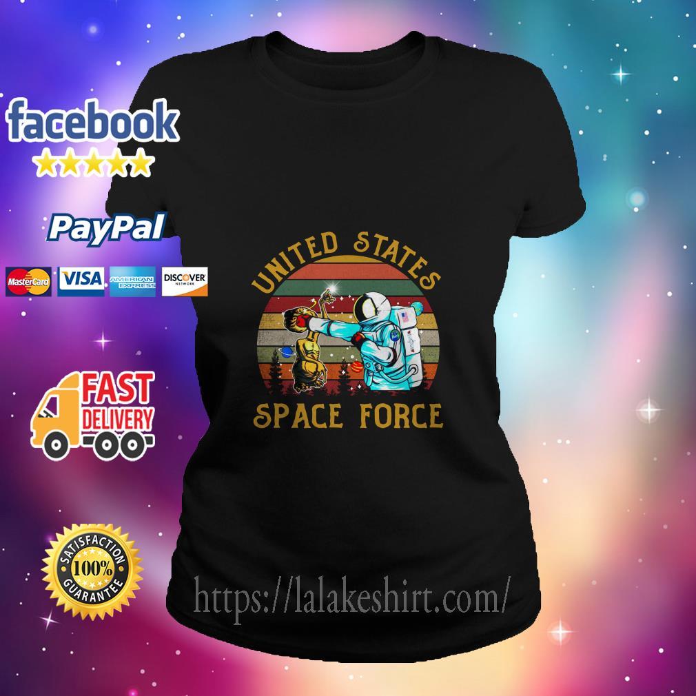 Alien United States space force ladies tee