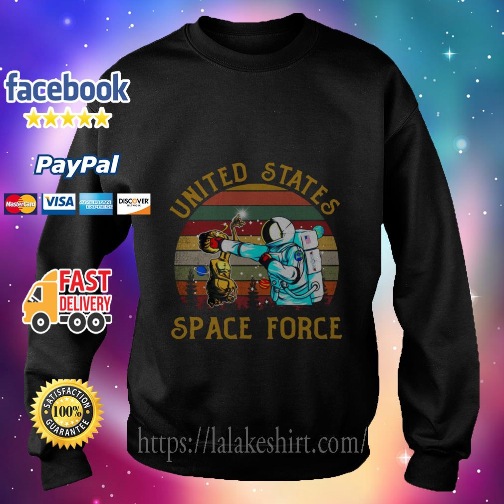 Alien United States space force sweater