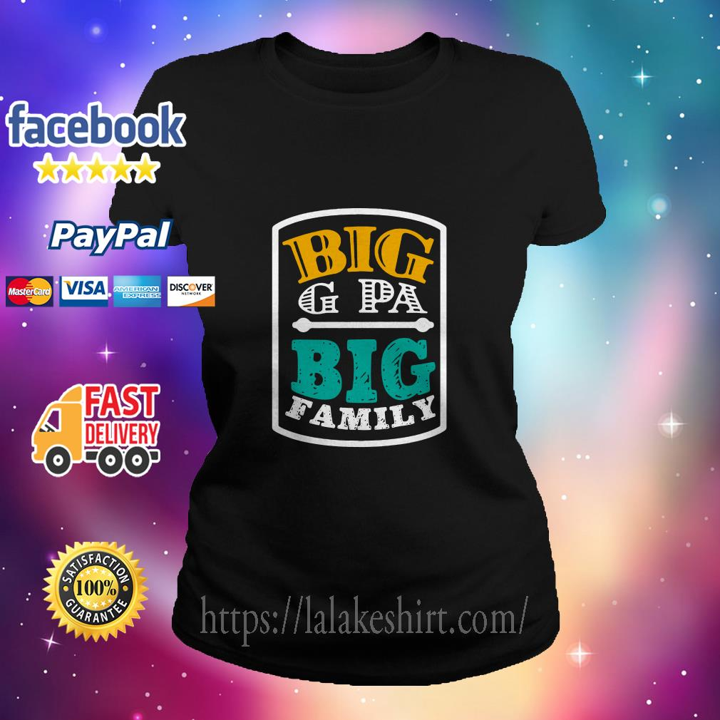 Big G Pa big family ladies tee