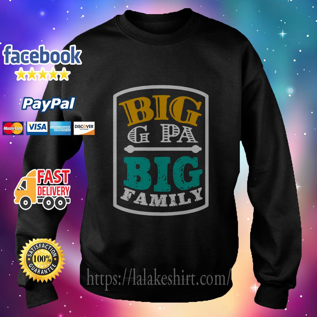 Big G Pa big family sweater