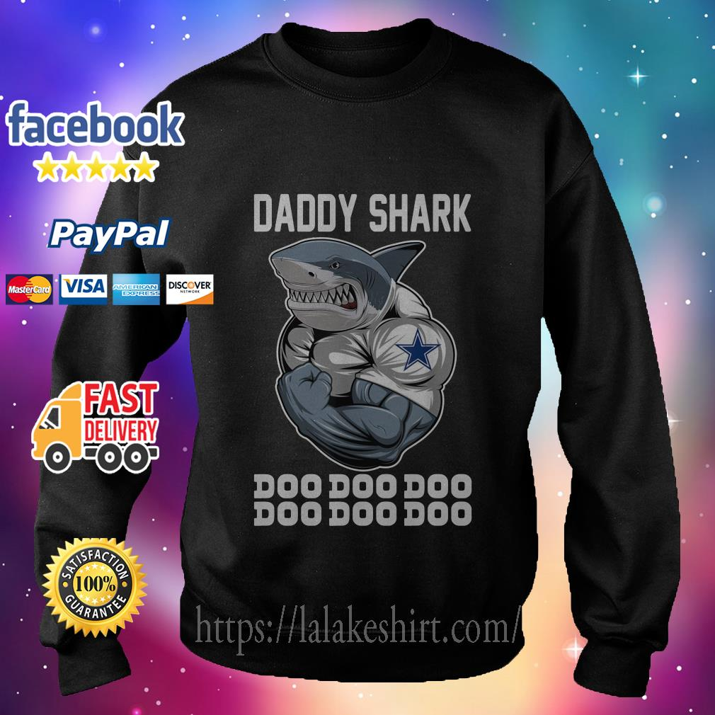 Daddy Shark-Body Building Dallas Cowboy Doo Doo sweater