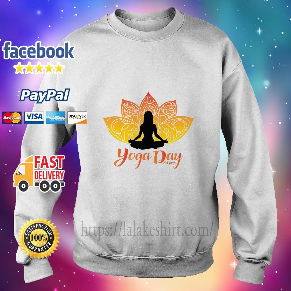 International Yoga Day sweater