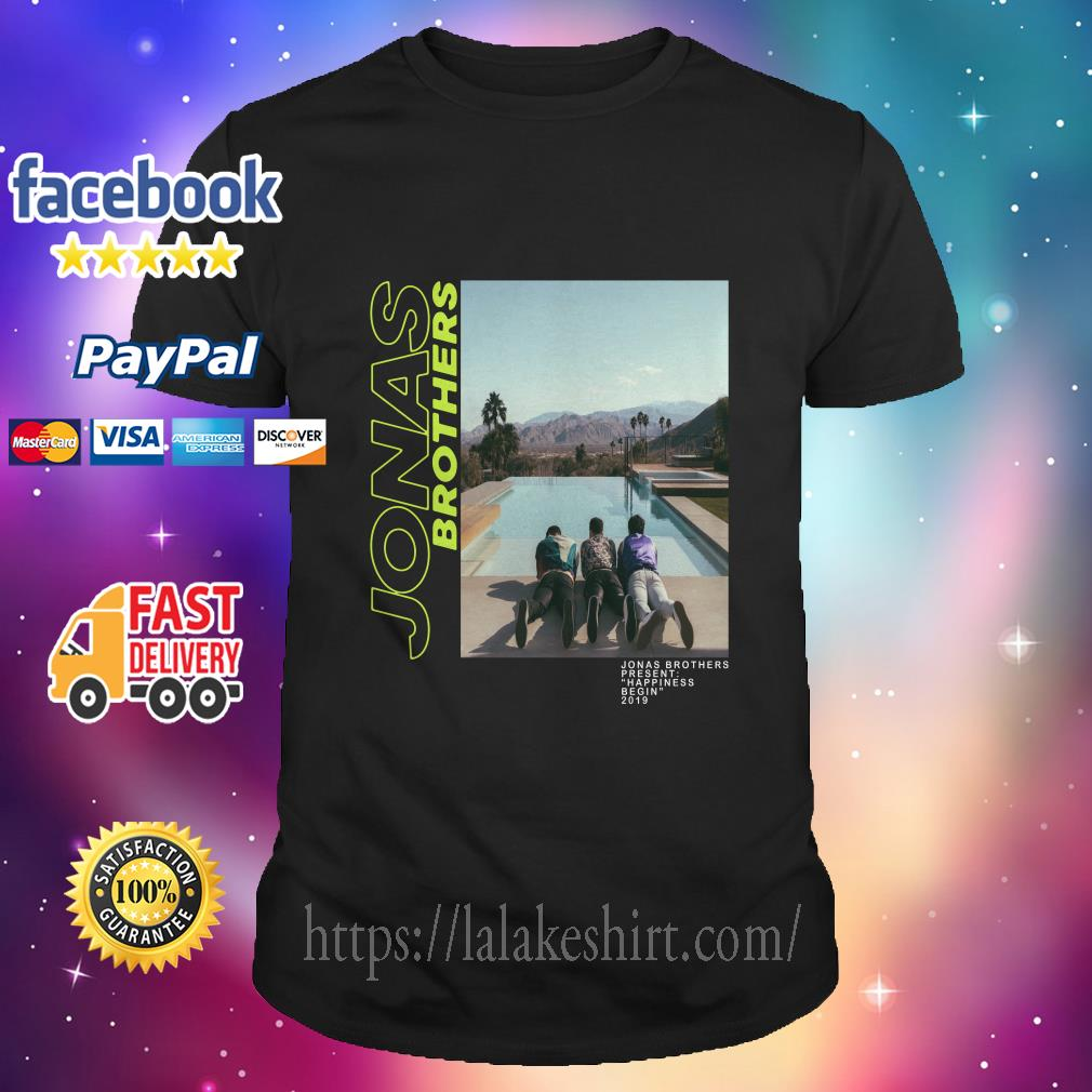 95757dda4 Jonas Brothers–Jonas Brothers present happiness being 2019 shirt ...
