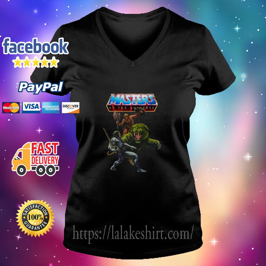 Masters of the unaverse v neck t shirt