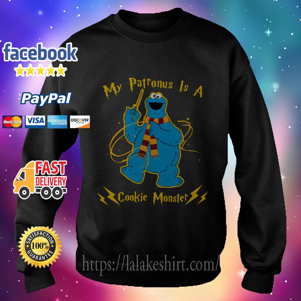 My patronus is a cookie Monster Sweater