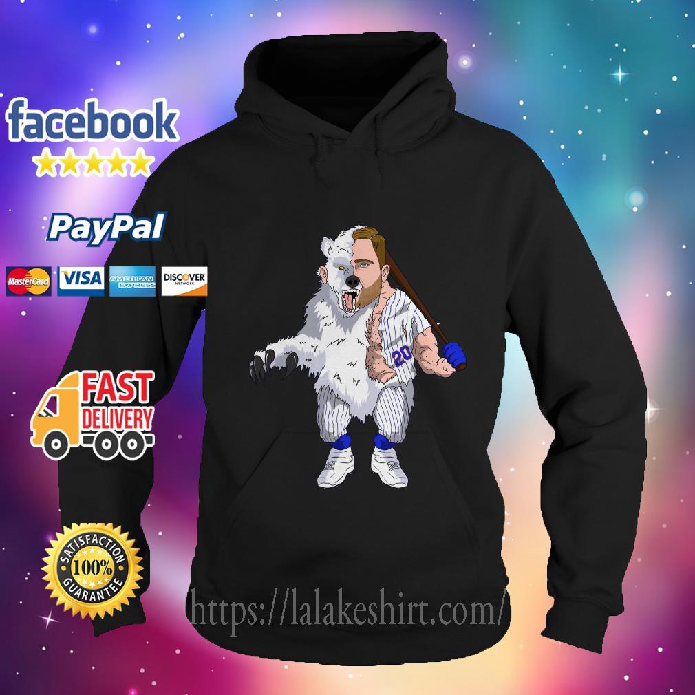 The polar Pete Kong Bear Swinging Baseball hoodie