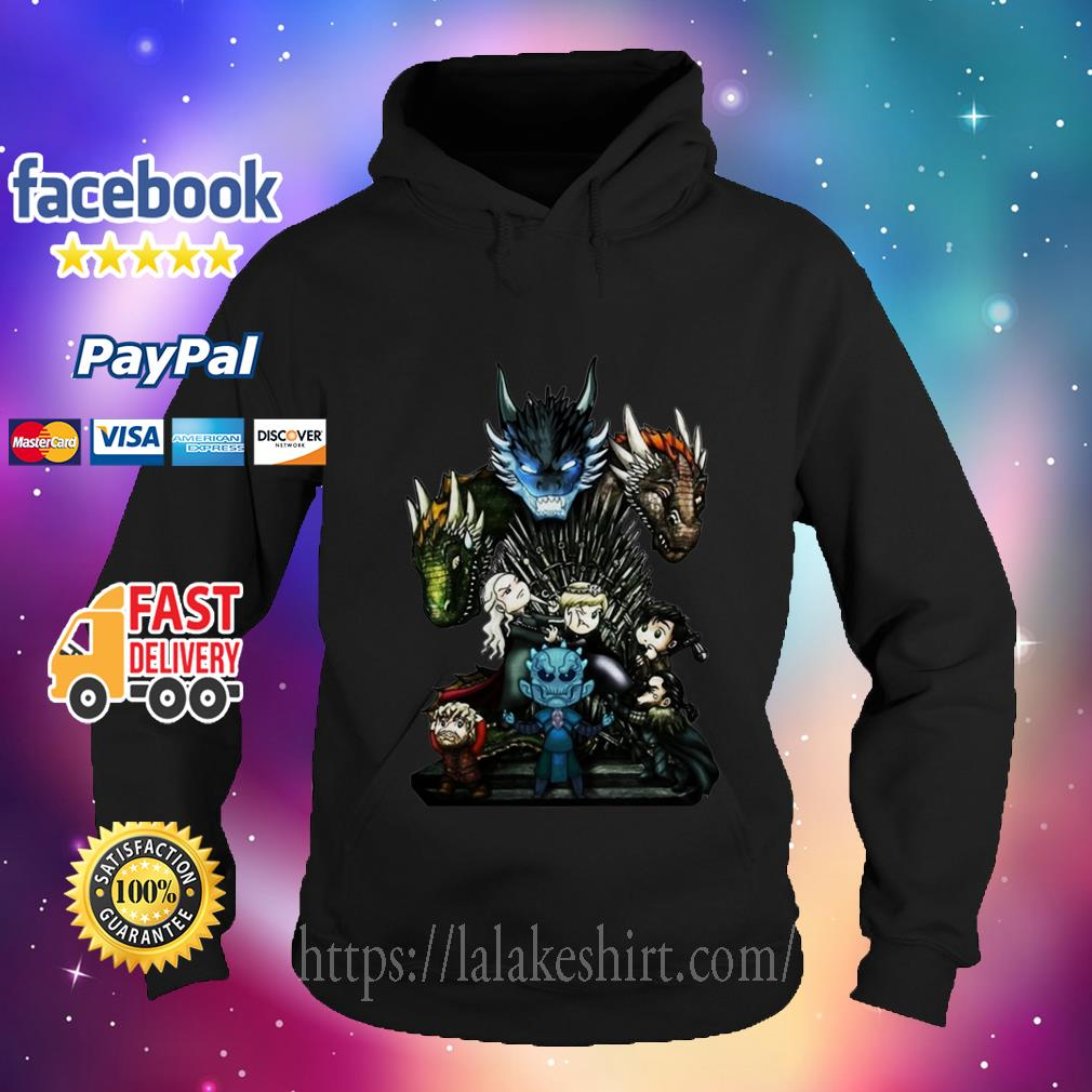 Who Will Be The King Game of Thrones Chibi hoodie