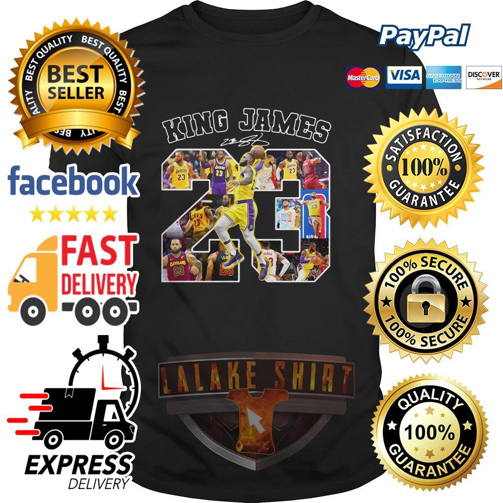 23 King James signature shirt