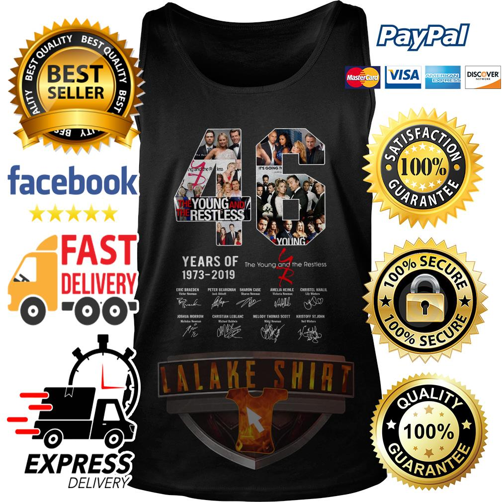 46 years of 1973 2019 the Young and the restless signature tank top