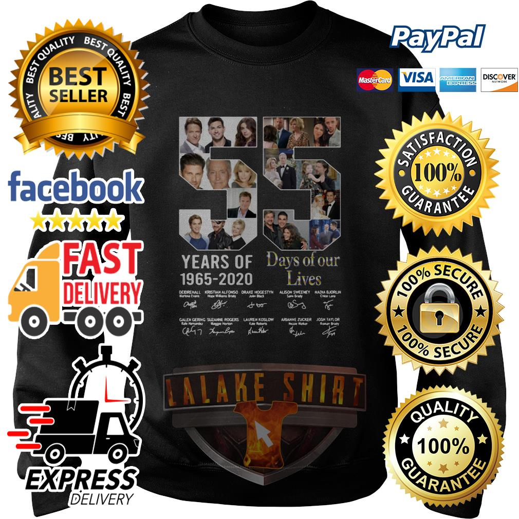 55 Years Of Day Of Our Lives 1965 2020 Signatures sweater