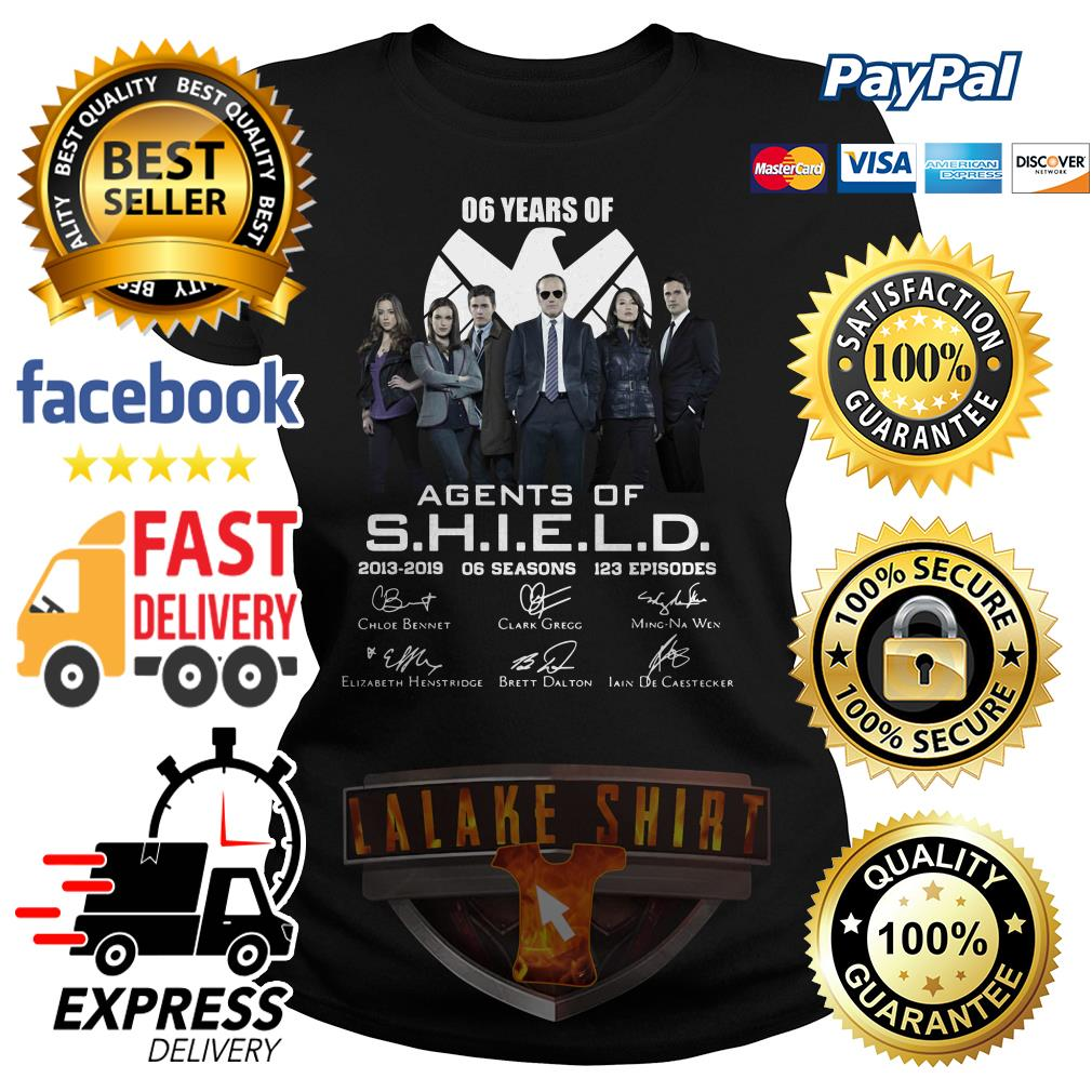 6 years of Agents Of SHIELD 2013 2019 ladies tee