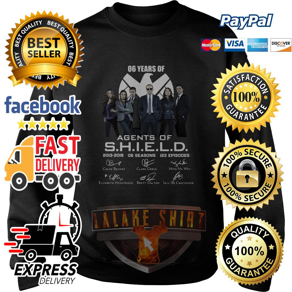 6 years of Agents Of SHIELD 2013 2019 sweater