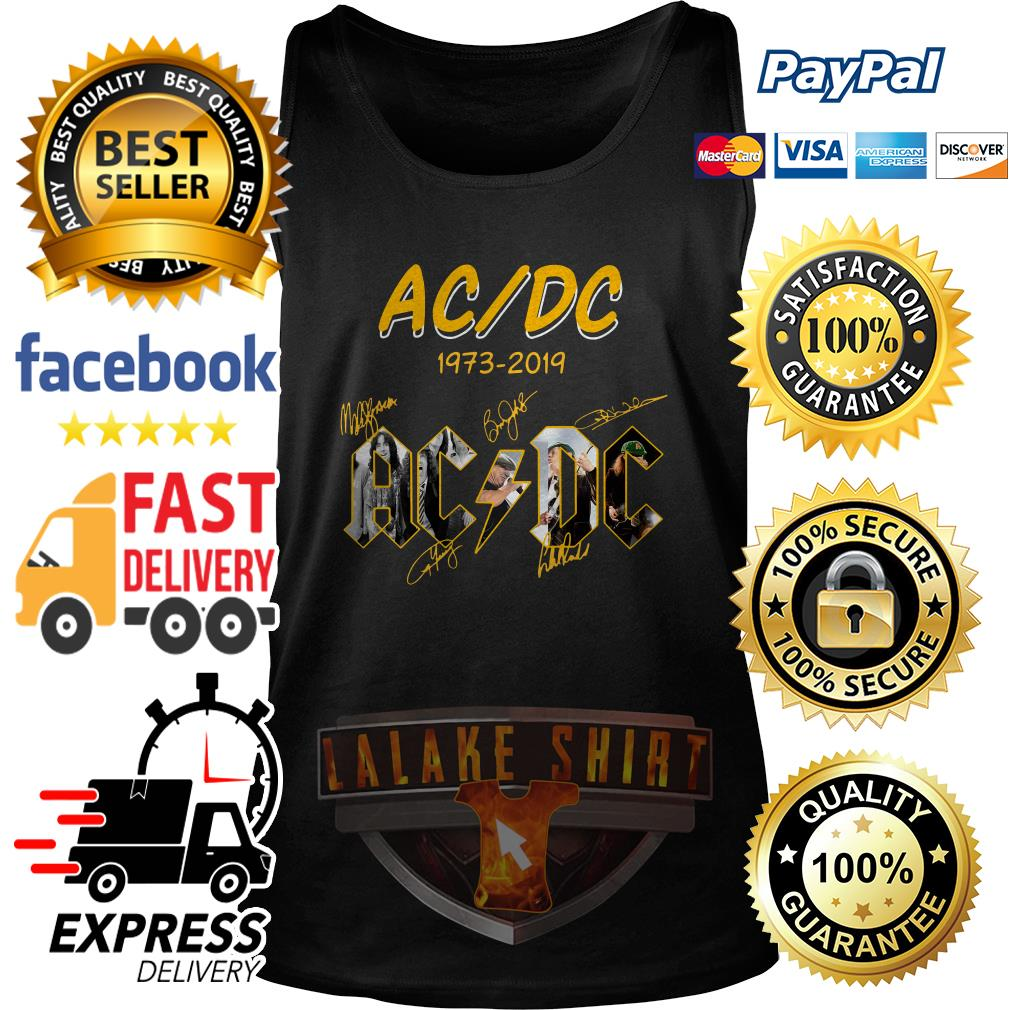 ACDC 1973 2019 signature tank top