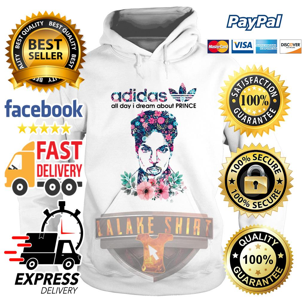 Adidas all day I dream about Prince Rogers Nelson hoodie