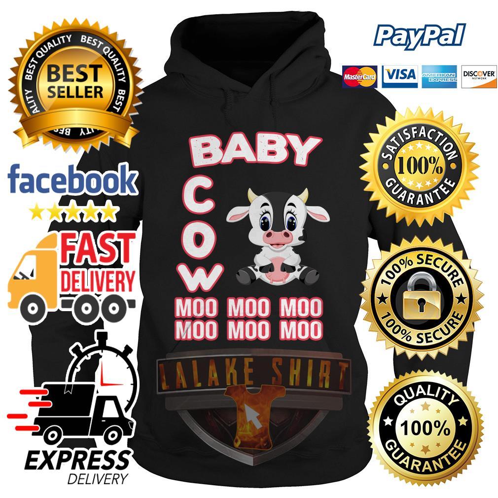 Baby cow moo moo moo moo moo moo hoodie
