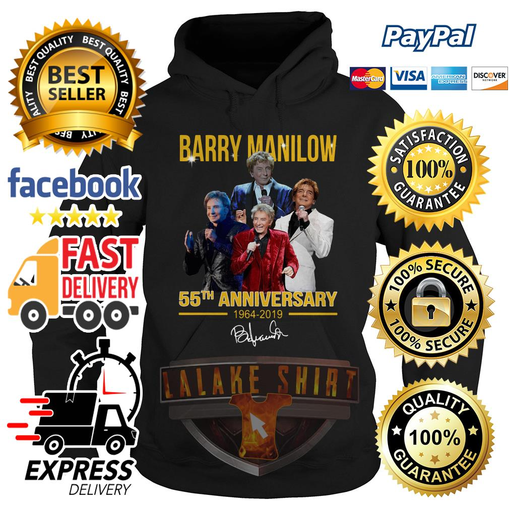 Barry manilow 55th anniversary 1964 2019 hoodie