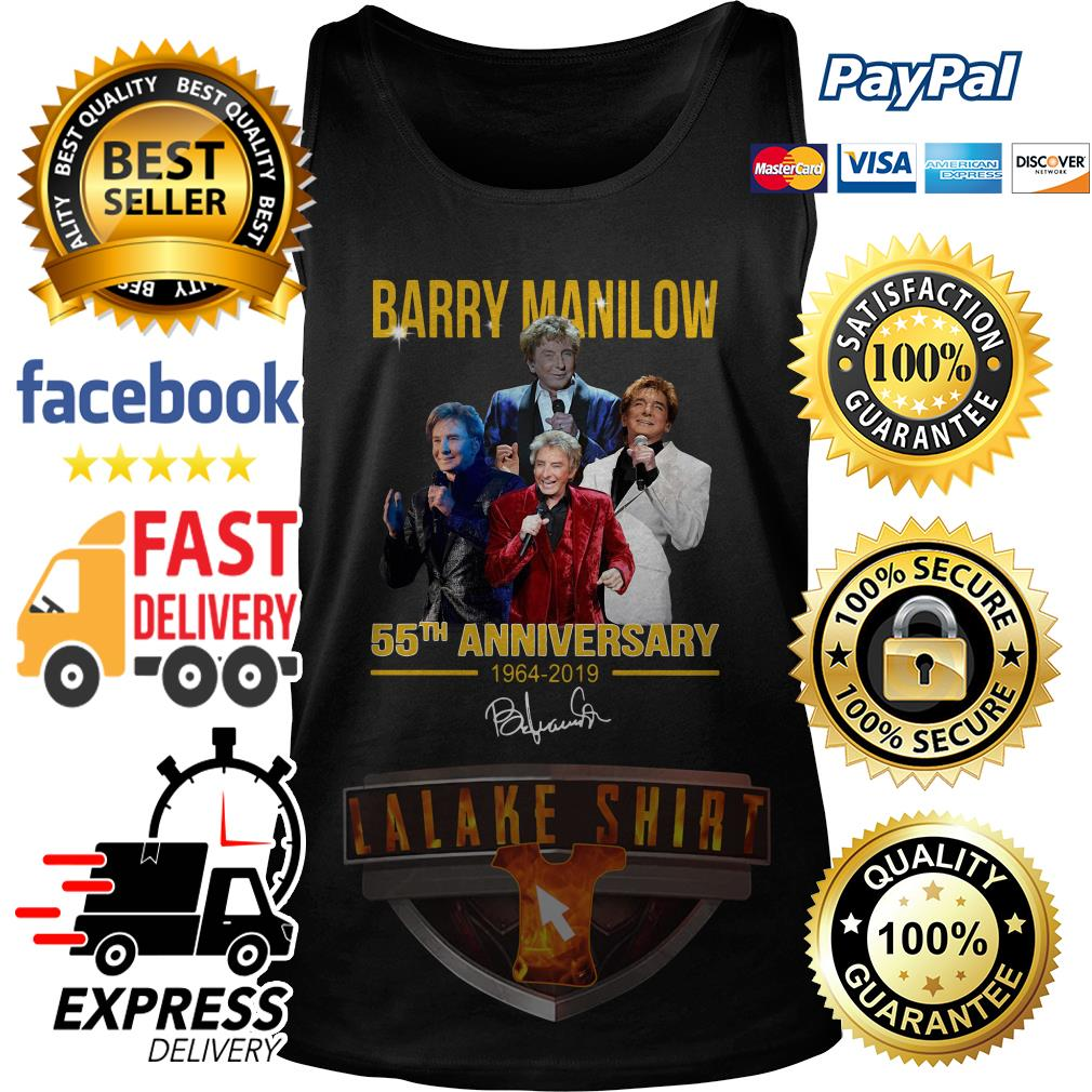Barry manilow 55th anniversary 1964 2019 tank top