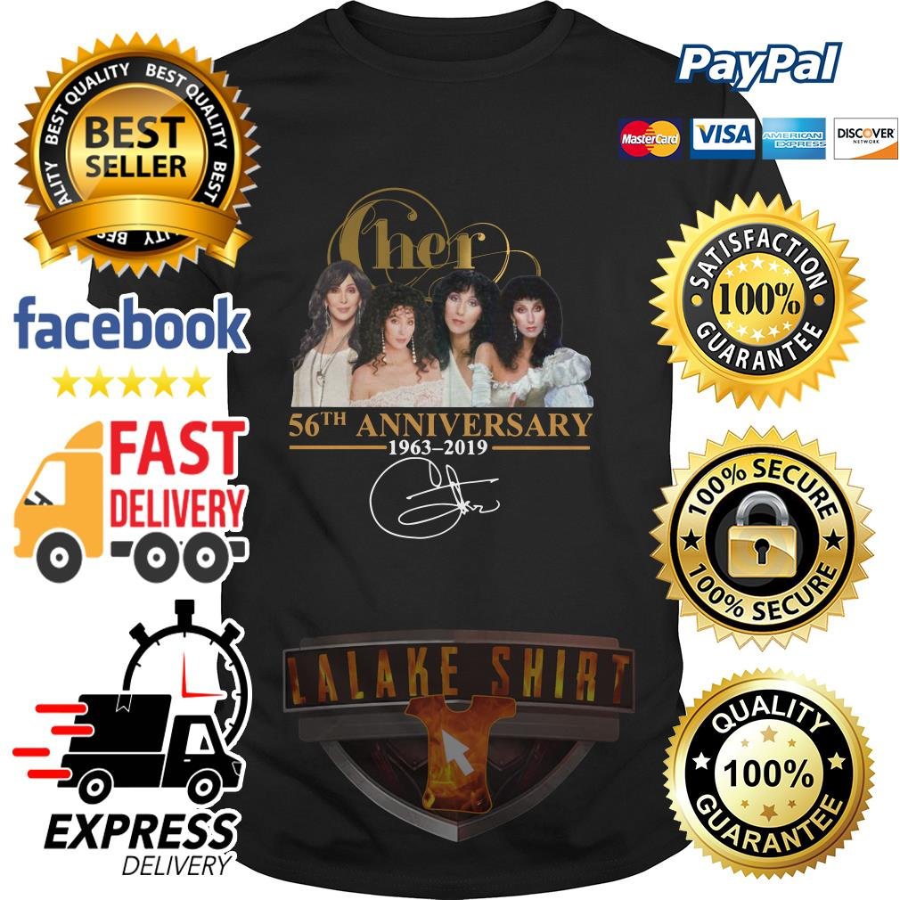 Cher 56th anniversary 1963 2019 signature shirt