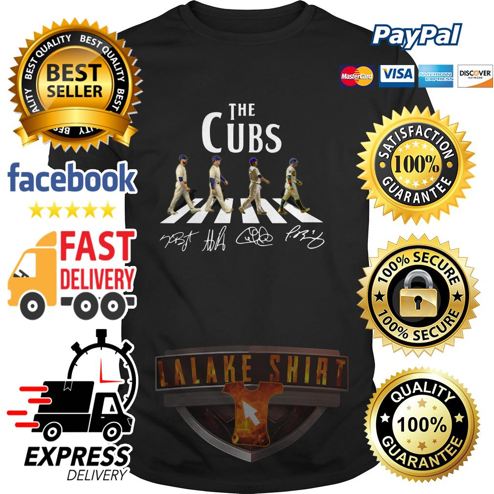Chicago Cubs The Cubs Abbey Road signatures shirt