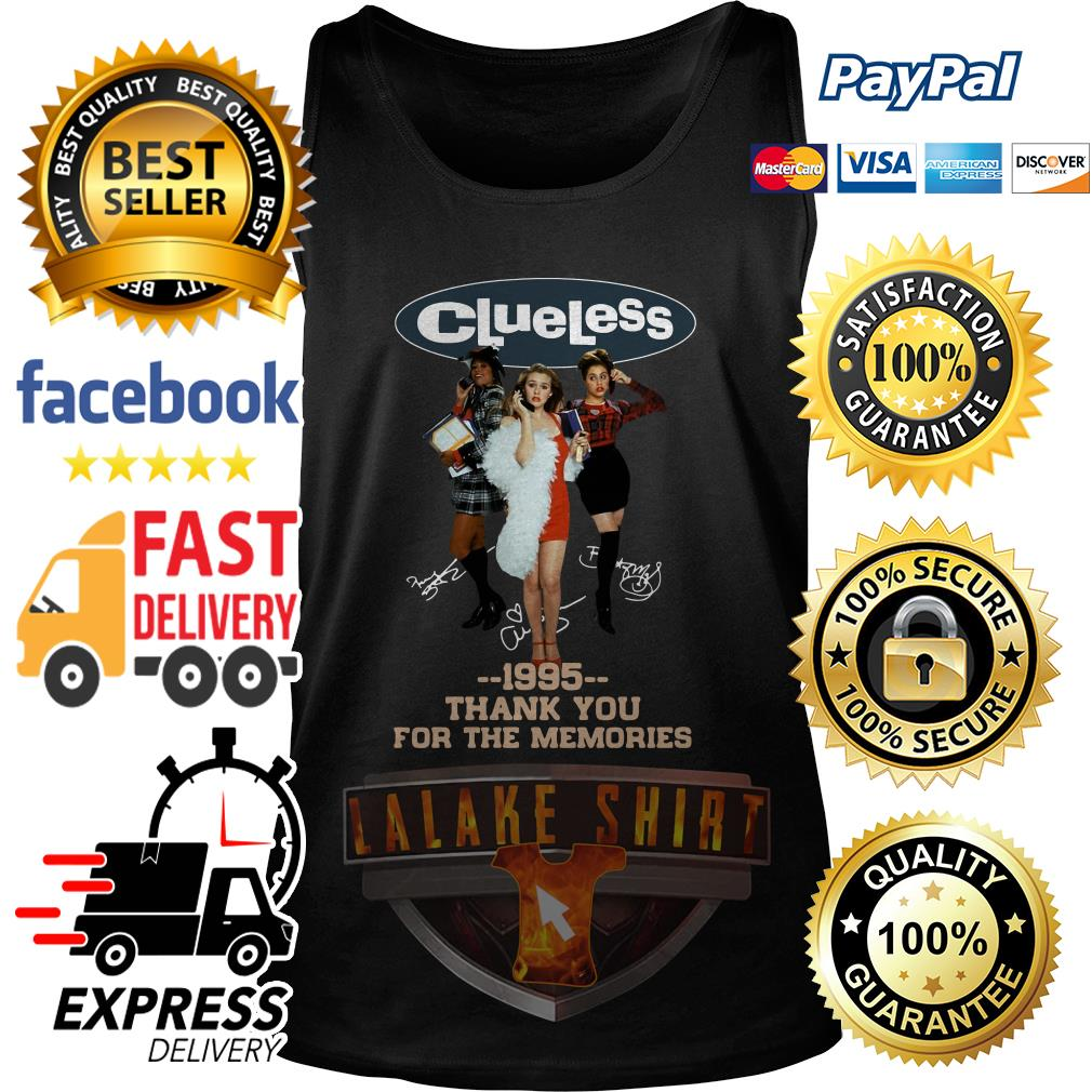 Clueless 1995 Thank You For The Memories tank top