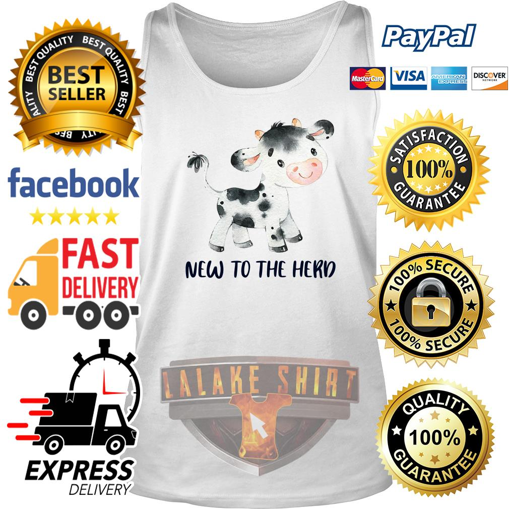 Cow new to the herd tank top