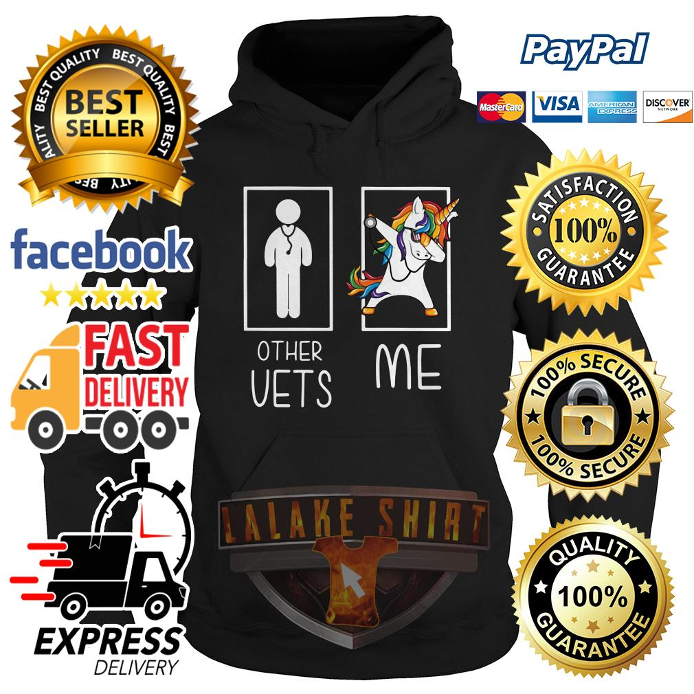 Doctor unicorn dabbing other vets me hoodie