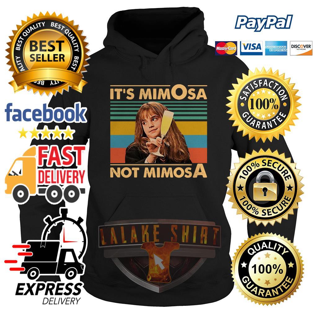 Emma Watson It's Mimosa Not Mimosa vintage hoodie