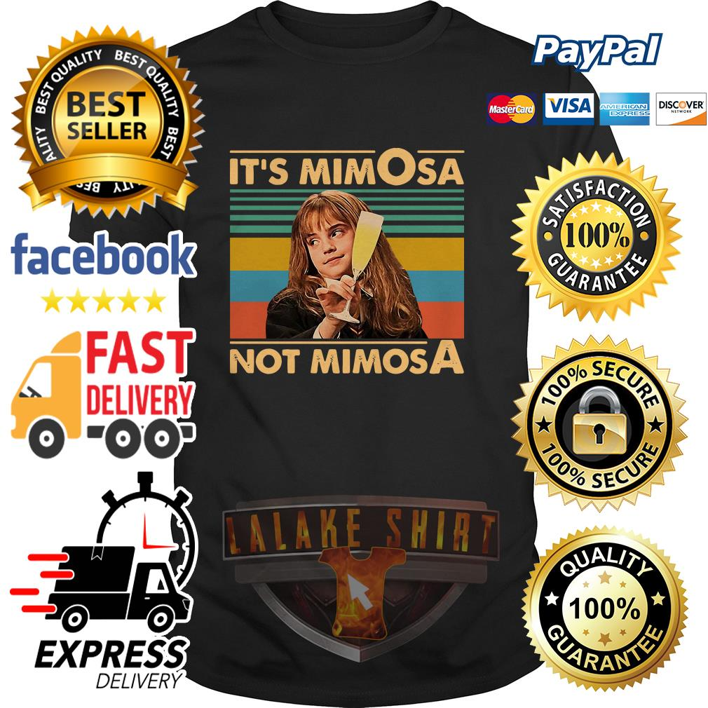 Emma Watson It's Mimosa Not Mimosa vintage shirt